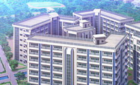 Background Art of Seidoukan Academy's Male Dormitory